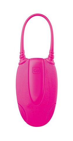 Go Travel Glo Luggage Tags (Twin Pack) - Pink - 568