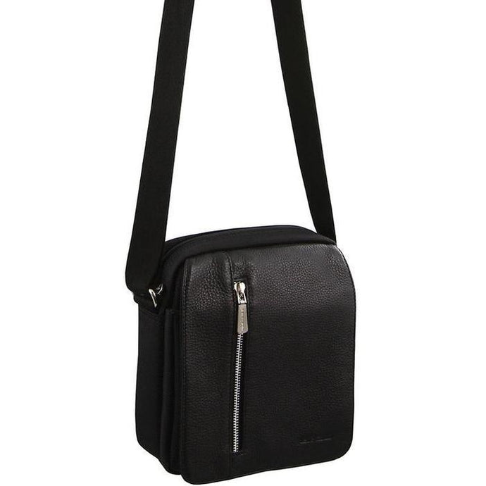 Pierre Cardin Ballistic Nylon & Italian Leather Unisex Bag - PC2636