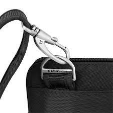 Travelon Anti-Theft Classic Slim Double Zip Crossbody