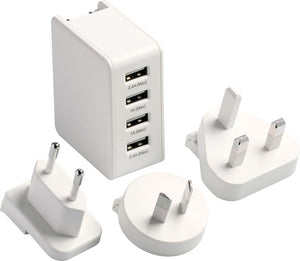 Go Travel Worldwide USB Charger Adaptor