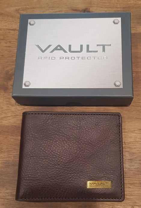 Vault, Cellini, Mens wallet, VM402, Genuine Leather