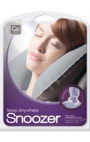 Go Travel Sleep Anywhere Snoozer Inflatable Neck Pillow - 447