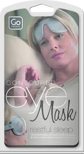 Go Travel Contoured Eye Mask - Grey - 726