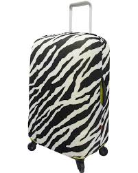 The Australian Luggage Co Spandex Large Size Luggage Cover - Zebra Design - LC002/L