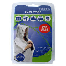 Tosca Full Length Unisex Rain Coat