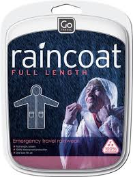 Go Travel Unisex Full Length Rain Coat - 820