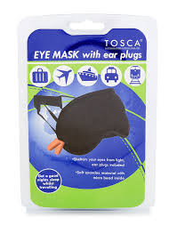 Tosca Eye Mask with Ear Plugs