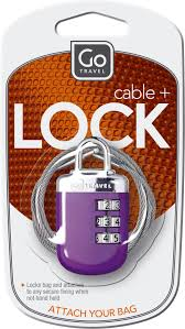 Go Travel Cable + Lock Set - 891