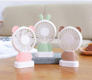 Mini Ventilateur Ours