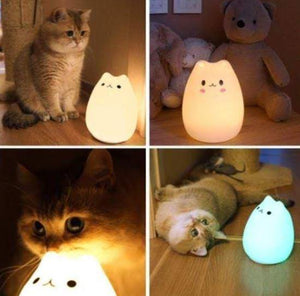 Lampe LED Petit Chat