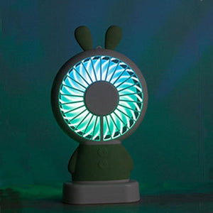 Mini Ventilateur LED Lapin
