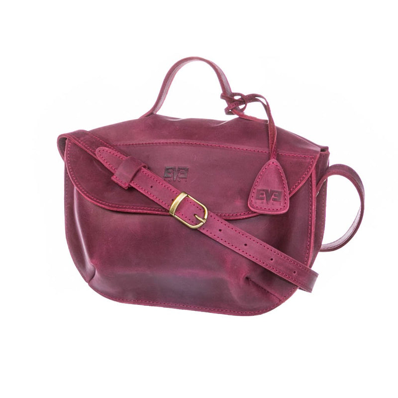 premium quality burgundy Handcrafted leather purse