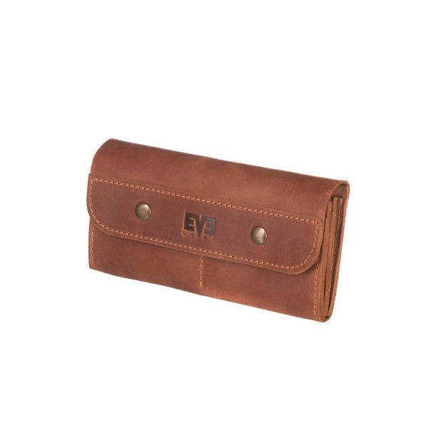 premium brown Handcrafted wallet from cowhide leather