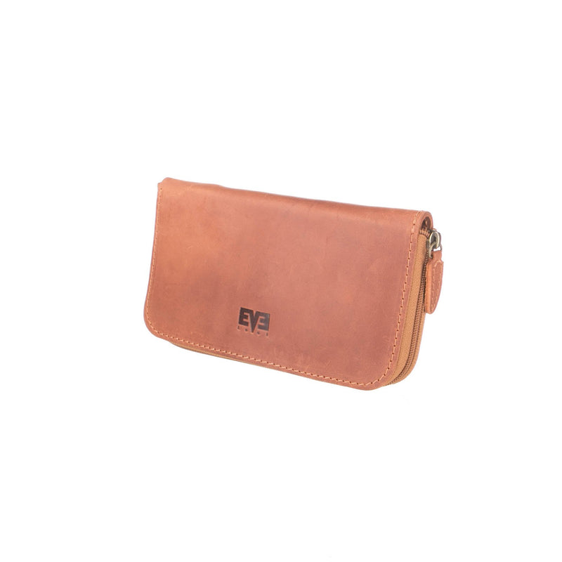 unique Big Leather Travel wallet for woman