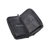 premium quality Big Leather Travel wallet black for man