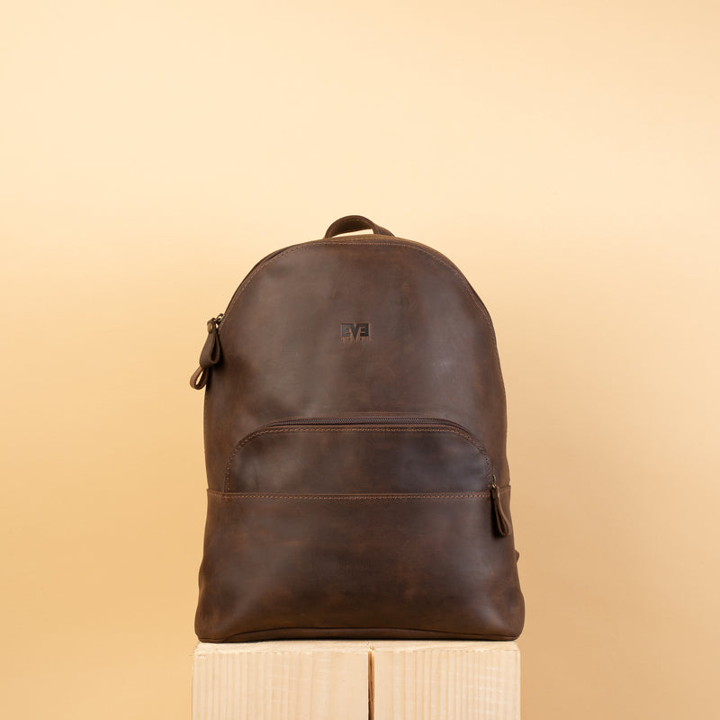 premium Classic Rucksack with one zipper pocket