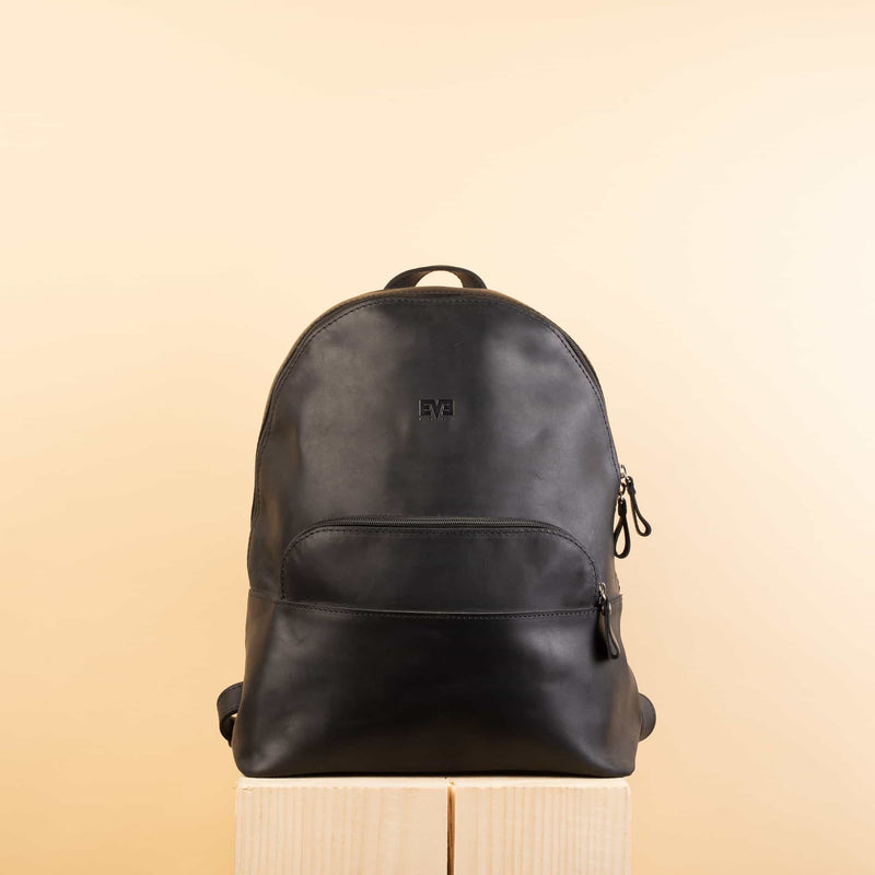 luxury Classic Rucksack with one zipper pocket