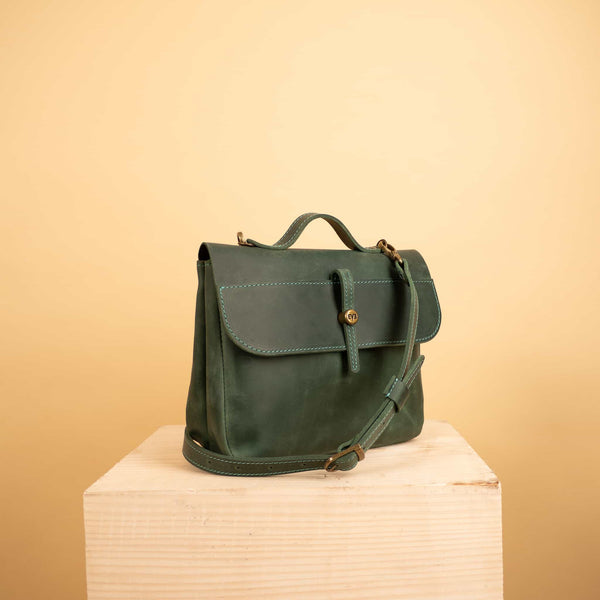 Leather shoulder bag - Lira