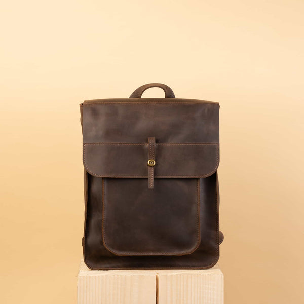 leather satchel backpack