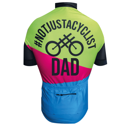 DAD RACE FIT  SHORT SLEEVE CYCLING JERSEY