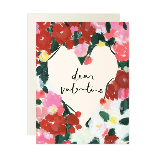 Dear Valentine Card - Greeting Card