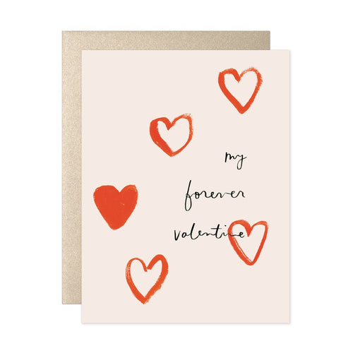 My Forever Valentine - Greeting Card