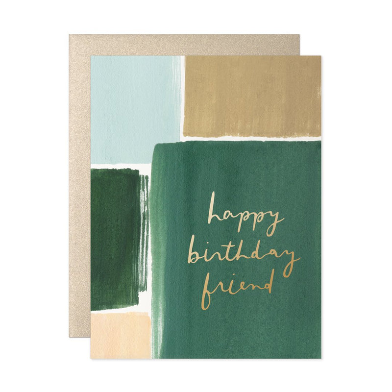 Happy Birthday Friend - Greeting Card