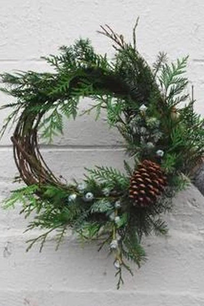 HOLIDAY WREATHS AT NELSON THE SEAGULL WORKSHOP