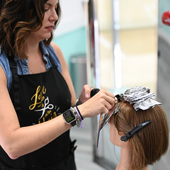 FOILING HAIR WITH ALPINE BLONDA