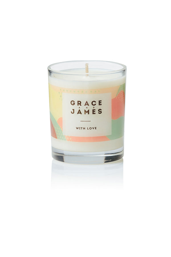 With Love 40 hour Candle