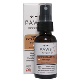 Paws Effect Whole Plant Hemp Extract (250mg) for Dogs, Natural Bacon Flavor, 1oz. - 33 Supply, LLC