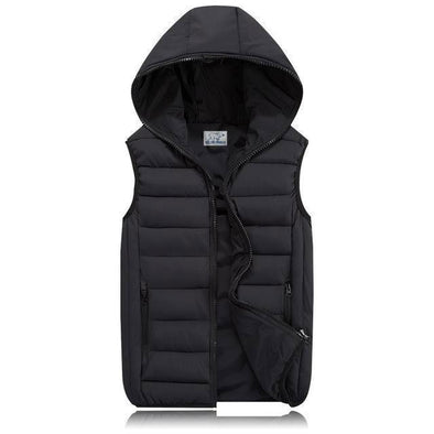 Polar Canvas Thermal Hooded Vest