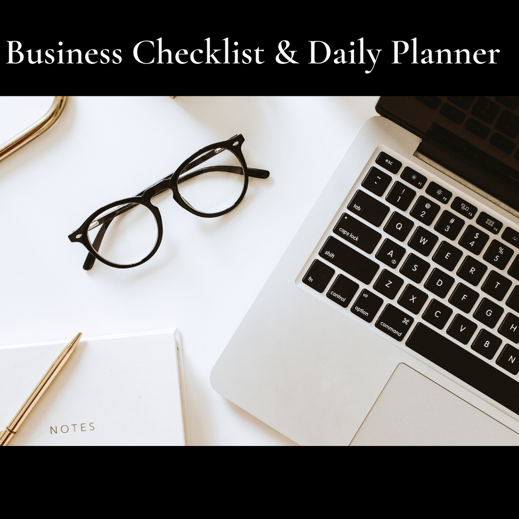 Free business checklist, Daily planner, and Ads Target list