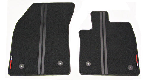 Focus Ford Performance carpet mats - Front
