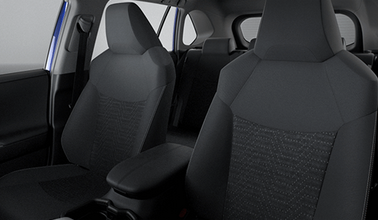 RAV4 Front Fabric Seat Covers