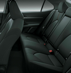 Toyota Camry Rear Fabric Seat Cover Nov 17-