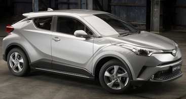 Toyota CHR Side Steps