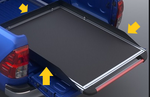 Toyota Hilux Bed Slide Walls
