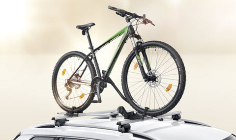 Kodiaq Roof Racks and Bike Carrier