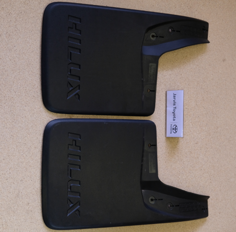 Hilux Rear Mudflaps 2015 On
