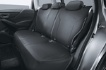 Genuine 2020 Forester Subaru Rear Black All Weather Seat Covers