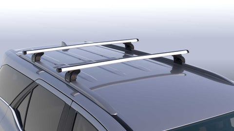 Toyota Fortuner Roof Racks - Rail Type