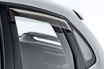 Baleno Slimline Weathershields - Rear