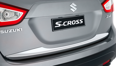 S-Cross Chrome Tailgate Moulding