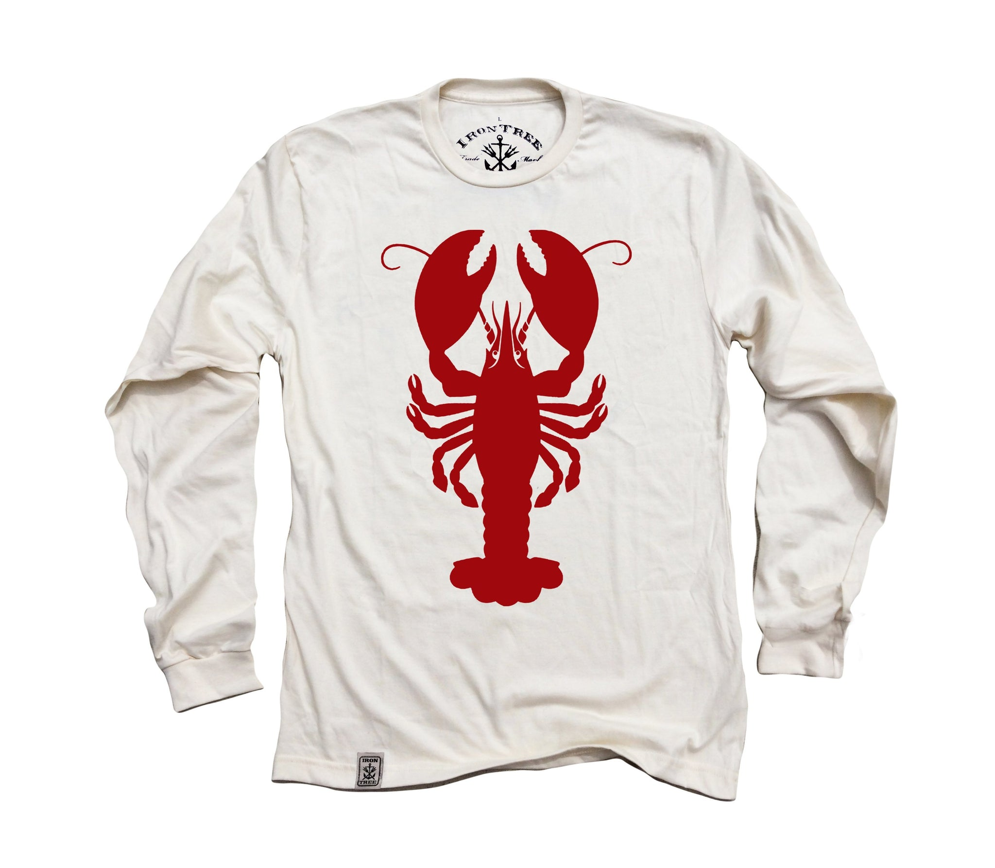 e750dd54c064 American Lobster: Organic Fine Jersey Long Sleeve T-Shirt in Unbleached  Natural