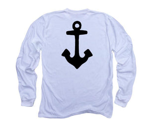 Anchor: Organic Long Sleeve - White