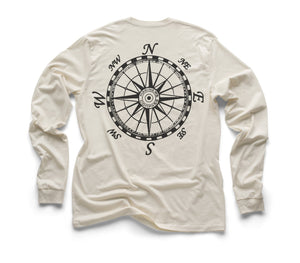 Mariner's Compass Organic Long Sleeve - Natural