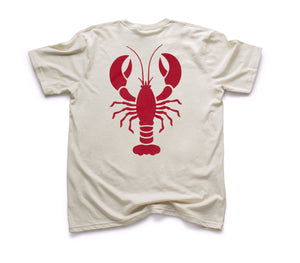 Red Lobster Organic Short Sleeve - Natural