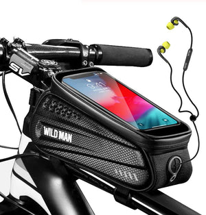 Bicycle Front Frame Waterproof Pouch