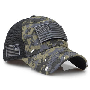 Tactical Baseball Hat w/ Patch Design